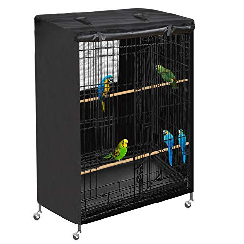 Honest Large Bird Parrot Cage Cover Good Night,Pets Product Universal Bird Cage Cover,Waterproof Bird Cage Cover Heavy…