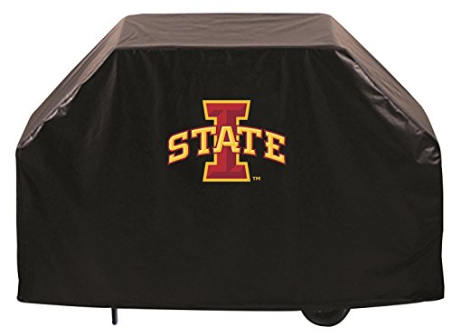 - Holland Bar Stool Co. Iowa State Cyclones HBS Black Outdoor Heavy Duty Vinyl BBQ Grill Cover (72
