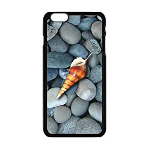 Personalized Creative Cell Phone Case For iPhone 6 ,little stones and a conch