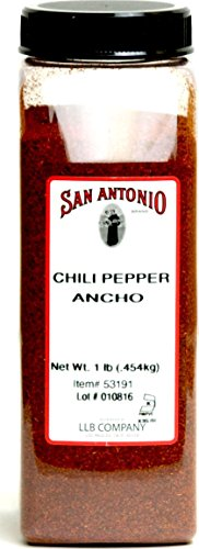 (1-Pound Premium Ground Ancho Chile Pepper Chili Powder )