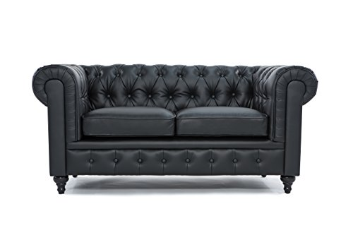 Chesterfield Loveseat Divano Roma Furniture