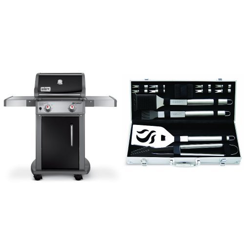 weber-46110001-spirit-e210-liquid-propane-gas-grill-black-with-cuisinart-grilling-set