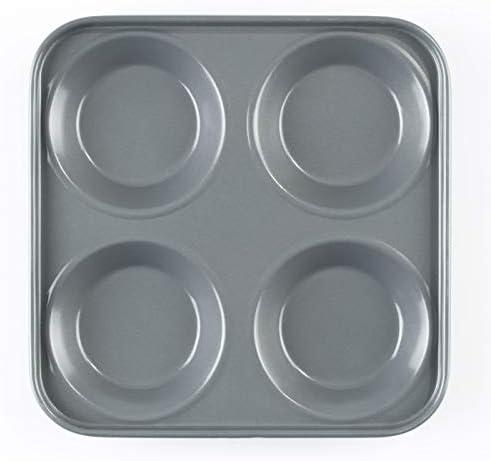 Dexam 12 Cup Yorkshire Pudding Tin Baking Sheet Tray Sunday Dinner Bakeware