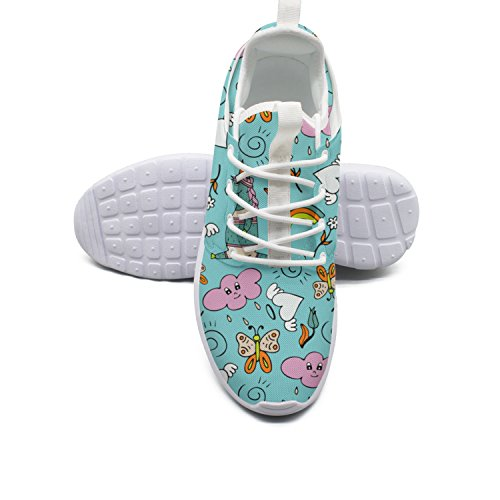 Running Lovely Shoes ERSER Unicorns Walking Women Weighted Rainbow Butterfly YRxPd1H