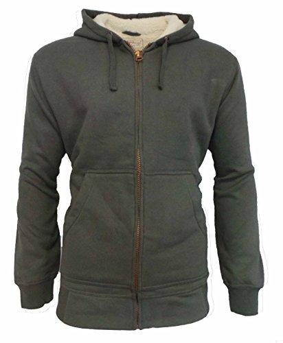 Vintage Fleece Hooded Zip Sweatshirt - 2
