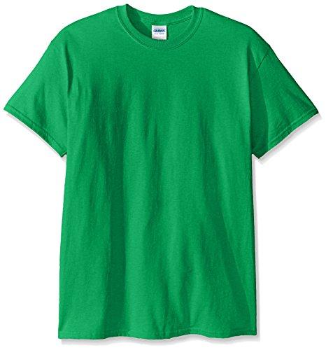 Gildan Men's Ultra Cotton Tee, Irish Green, Medium ()