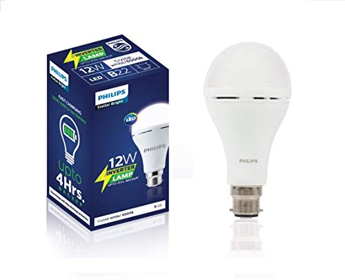 PHILIPS 12 Watt B22 LED Cool Day Light Bulb, Pack 1, White (929002441513_1)