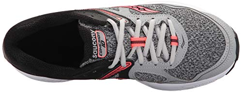 Grey Cohesion Saucony Shoes Running Coral 10 Women's Grid RWFqw81