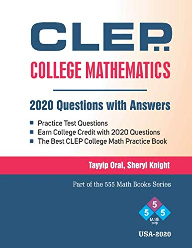 Top 10 best clep college mathematics examination guide for 2020