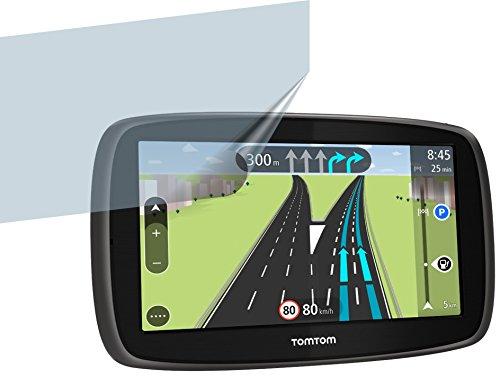 2 x Displayschutzfolie von 4ProTec für TomTom Start 60 Europe Traffic Modell 2014 - Nahezu blendfreie Antireflexfolie