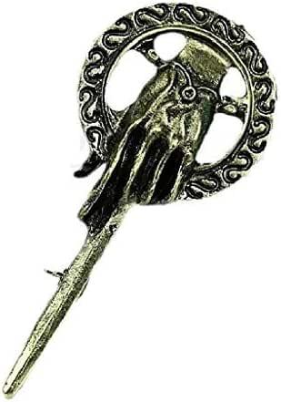 EVRYLON Broche de Mano del Rey Trono de Espadas canción Hielo la canción de Hielo y Fuego Game of Thrones The Song of Ice and Fire