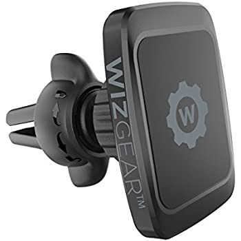 Magnetic Mount, WizGear Universal Twist-lock Air vent Magnetic Car Mount Holder, for Cell Phones with Fast Swift-snap Technology