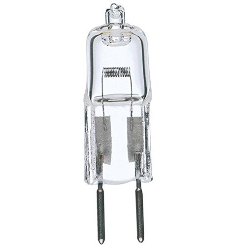 Satco S3120 20 Watt T3 Halogen, Clear, Bi Pin G4 base, 12 volts (Pack of 5) ()