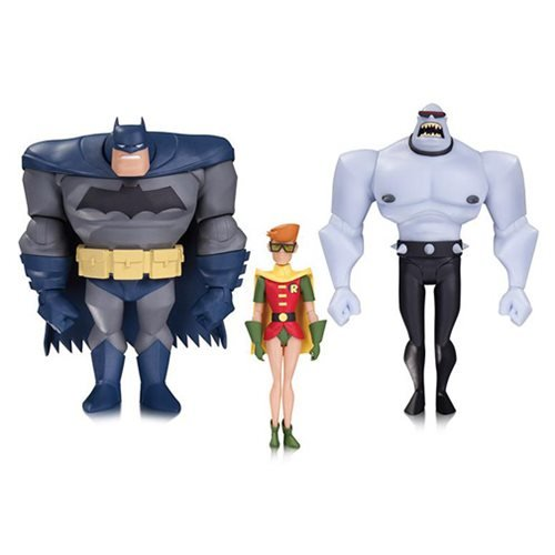 DC Comics Tales of the Dark Knight: Batman, Carrie Kelley as Robin, and Mutant Leader Action Figure (Dark Knight Robin)