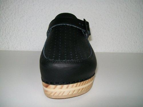 bois taille Sabot A ressort couleur avec 120 LUVER noir anatomique en 41 vERqwTnpU