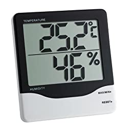 Thermco Jumbo Digit Hygrometer/Thermometer
