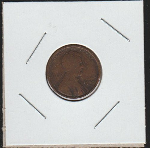 1910 Lincoln Wheat (1909-1958) Penny Good