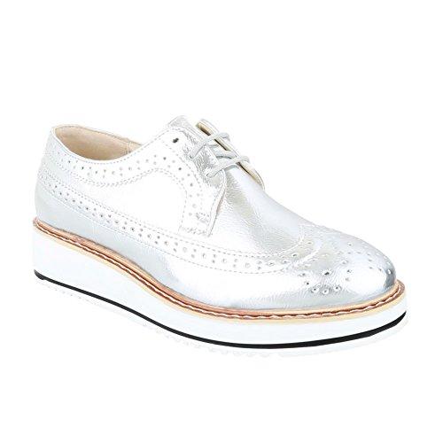 King Richelieu Shoes Silber Femme 389 Of wwZxrqE1