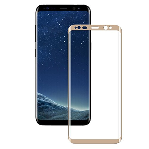 5D Curved Full Cover Tempered Glass Galaxy S9 S8 Plus S9 Screen Protector Film S9 S8 Plus Glass Film Gold Galaxy S9 Plus