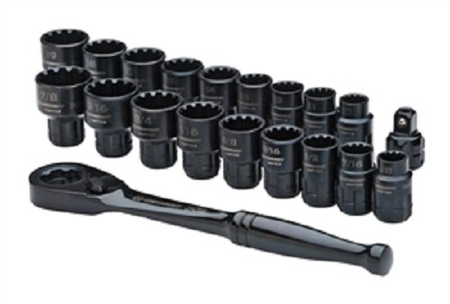 Crescent CX6PT20 X6 Pass-Through Ratchet and Sockets, 20-Piece ()
