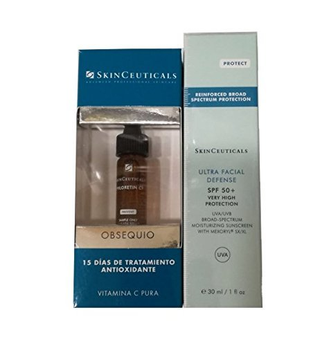 SkinCeuticals Protect Ultra Facial Defense SPF +50, 30ml + Phloretin CF 15 days Treatment