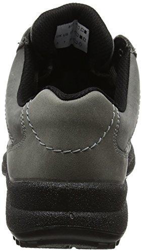 Limestone Grey Mujer HotterMist Smoke con Cordones Planos GTX Zapatos wxCq7zp8