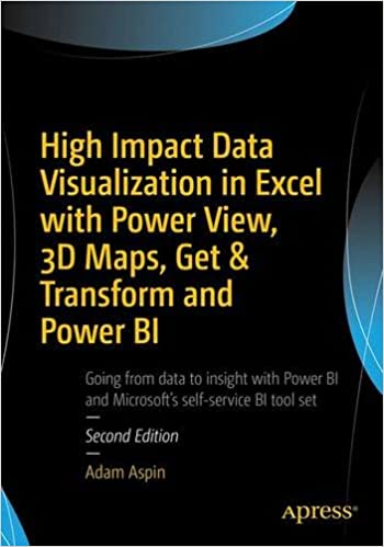 High Impact Data Visualization in Excel with Power View