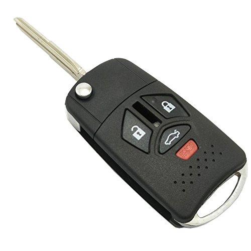 mitsubishi car key shell - 7