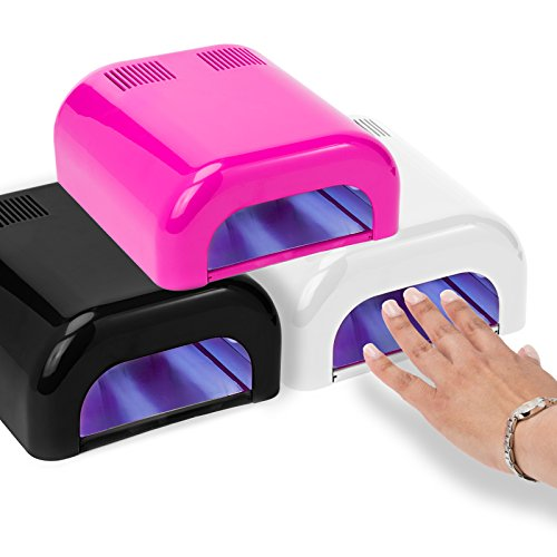 Salon Sundry - Professional 36 Watt UV Beauty Salon Nail Dryer - Pink