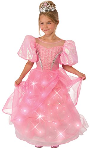 [Rubie's Costume Pink Princess Child Costume, Medium] (Different Princess Costumes)