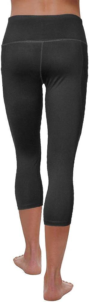 RainbowTree Womens Out Pocket High Waist Yoga Leggings,Tummy Control,Pocket Workout Yoga Pant Indoor Exercise