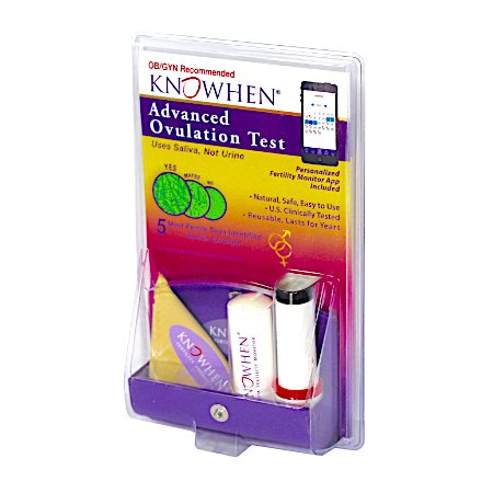 KNOWHEN Advanced Saliva Ovulation Predictor Test Kit with Fe