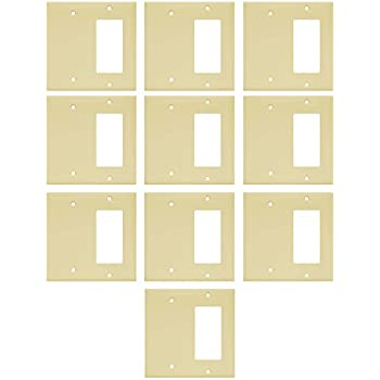 Enerlites 880131 I 10PCS Decorator/Blank Switch Wall Plate Combination By Home  Decorator