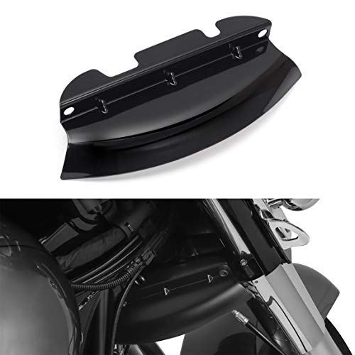 PBYMT Black Lower Triple Tree Wind Deflector Compatible for Harley Touring Road King Street Electra Glide FLHR FLHX FLH FLTRX FLTR/I 2014-2020