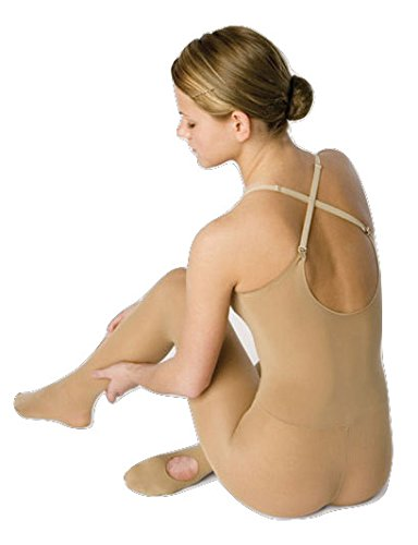 Dance Body Tight Convertible Foot Dark Tan (Adult Large/X-Large) (Dance Revolution Dance Costumes)