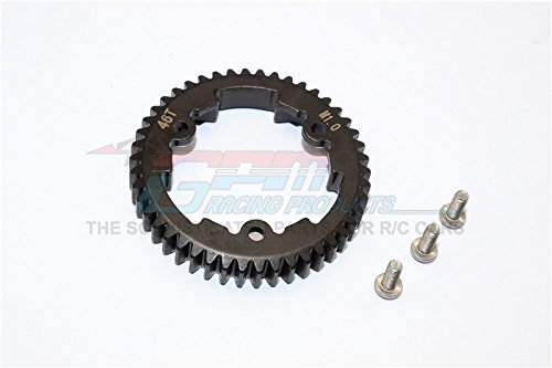 Traxxas XO-01 Upgrade Parts Steel Spur Gear 46T (M1.0) - 1Pc Black
