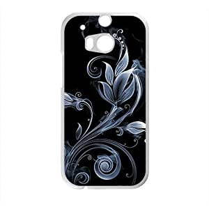 leaves cirrus black background personalized high quality cell phone case for HTC M8