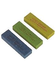 PassBeauty - Juego de 3 gomas de borrar para pulir trastes de guitarra, grano 180 y grano 400 y grano 1000
