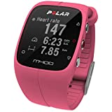 Polar M400 GPS Sports Watch with Heart Rate Monitor (Pink)