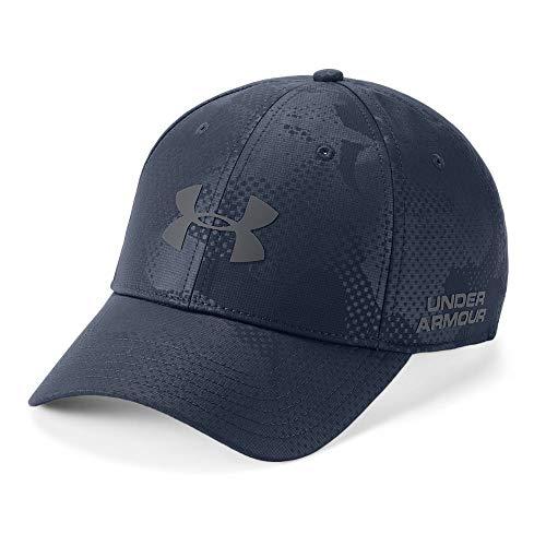 Under Armour Men's Golf Headline 2.0 Cap, Academy (409)/Rhino Gray, Large/X-Large