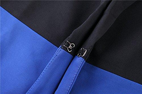 PINGMING Nuevo Color Del Golpe Europea Costura Delgado Era La Sección Larga Delgada De Las Pequeñas Mujeres Del Juego Black