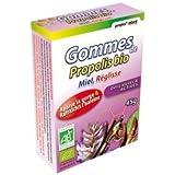 Propos Nature - Gommes De Propolis Verte Bio Miel Réglisse (Certifiées Ab) - Contenance : 45G