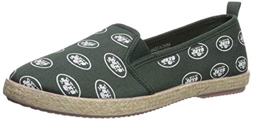 New York Jets Espadrille Canvas Shoe - Womens Small