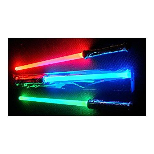 Led Lightsaber Sword Changes 3 Colors Realistic Star Wars Like Sound Light Saber -