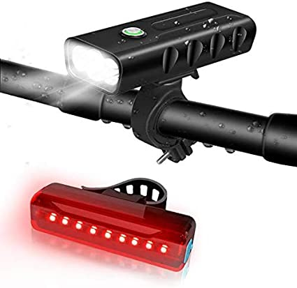 waterproof LED Bicycle  headlights bicycle Night street lamp Bicycle headlights