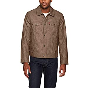Levi's Men's Suede Touch Trucker Jacket