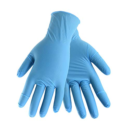 Blue Hawk 50-Count One Size Fits All Nitrile Cleaning Gloves