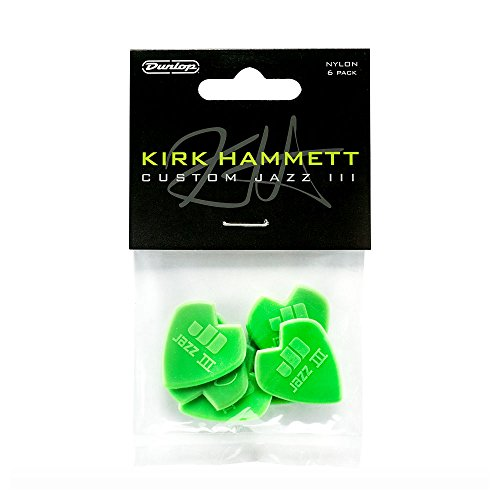 Dunlop Kirk Hammett Signature Jazz III (pack of 6) (47PKH3N)