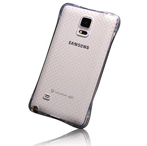 Cáscara para Samsung Galaxy Note 4 SM-N9100 Sunroyal® Caso TPU Suave Extremadamente Delgada Transparente Funda Carcasa Gel Case de Premium Cover Ultra Thin Fina Cubierta Estuche Protectora Caja Ultral Color5