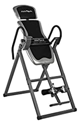 Innova Heavy Duty Inversion Table with Adjustable Headrest & Protective Cover. Do not let children under the age of 12 use the inversion table